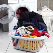 قصة… أحضرت الأم الملابس المتسخة لكي تغسلها وعندما فتحت الغسالة صرخت من الفزع حتى أغمى عليها