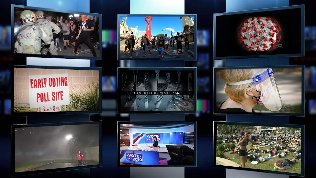 Behind the camera: '2020 Through the Eyes of KSAT' airs Wednesday at 7 p.m.