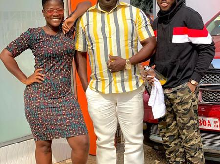 Meet Koo Fori, An Astute Comedian, Actor And Broadcaster; With His Two Kids!