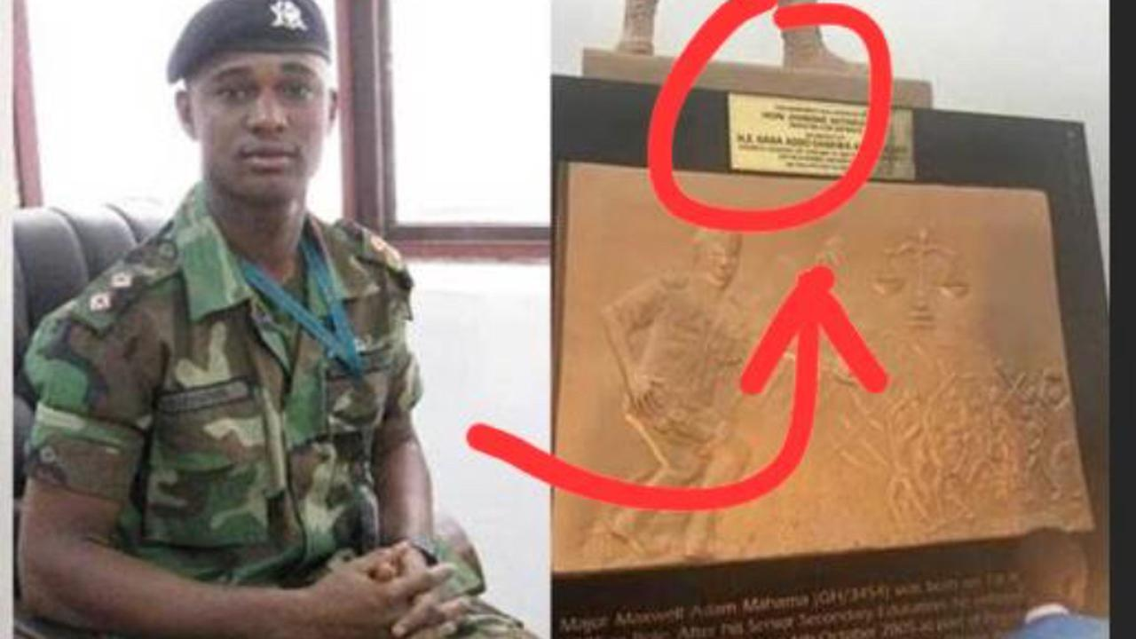Have You Seen Major Maxwell Mahama Grave Lately?, See Photos Of What We Found There (Photos)