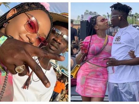 Love Is Sweet, Check Out 19 Romantic Pictures Of Mr Eazi And Temi Otedola