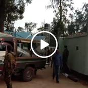 Police Officers Raid Rashid Echesa's Home Hours After Video in Matungu By-election Went Viral