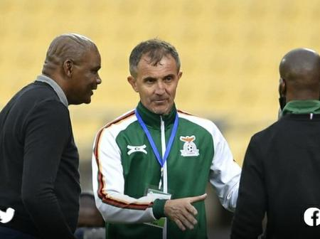'Micho' reacts to AFCON failure