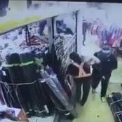 Daring Robbers Are Captured On CCTV Stealing In A Broad Daylight