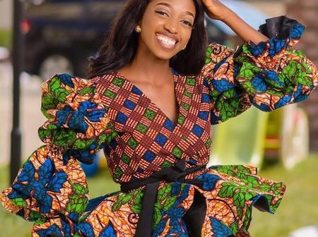 Ladies, Here Are 10 Lovely Ankara Designs You Should Try