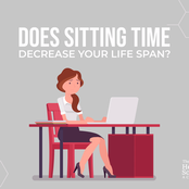 Sitting For More Than 3 Hours A Day Shortens Your Life Span- Study Shows