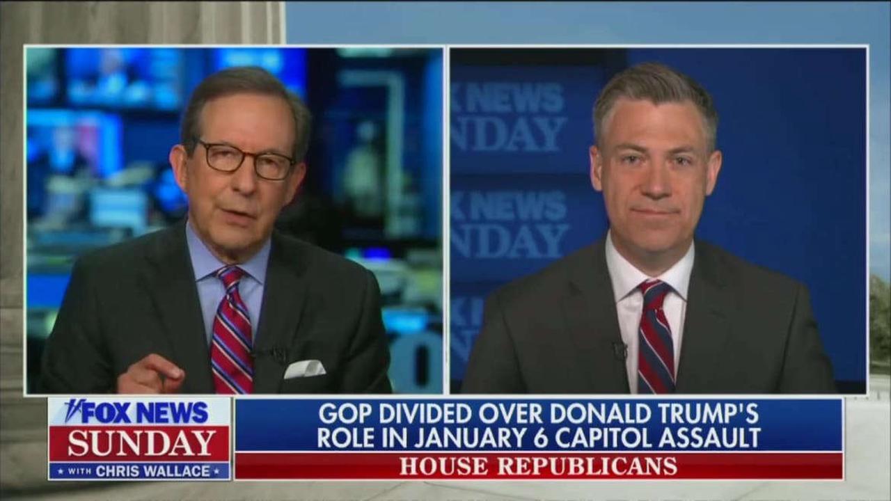 Chris Wallace Confronts GOP Rep: 'Is It a Lie the Election Was Stolen?'