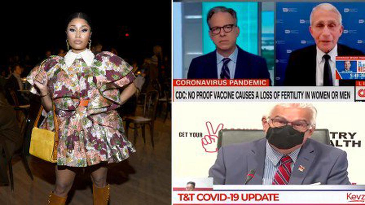 Trinidad says Nicki Minaj's testicle claim is wrong and wasted officials' time