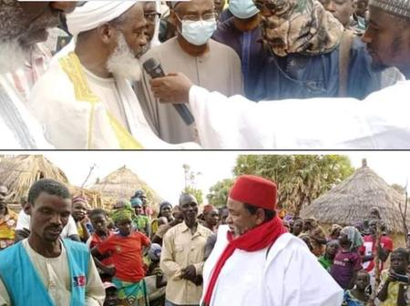 Few Days after Gumi Visited kidnappers, Checkout what Sheik Ibrahim was spotted doing in a village