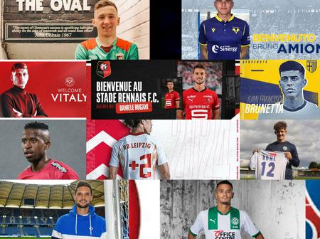 Done Deals: 100% Completed Transfer Done Deals For Today, Check Out Who Your Team Has Signed