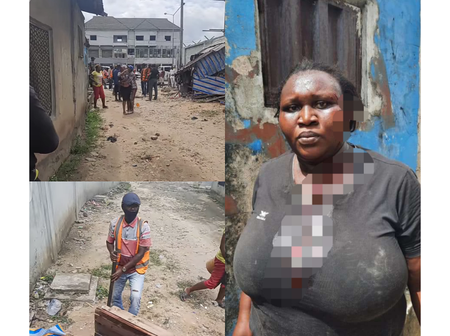 Task Forces Allegedly Injured Woman While Destroying Her Shop In Rivers State