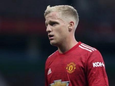 Donny Van De Beek looking to leave Manchester United?