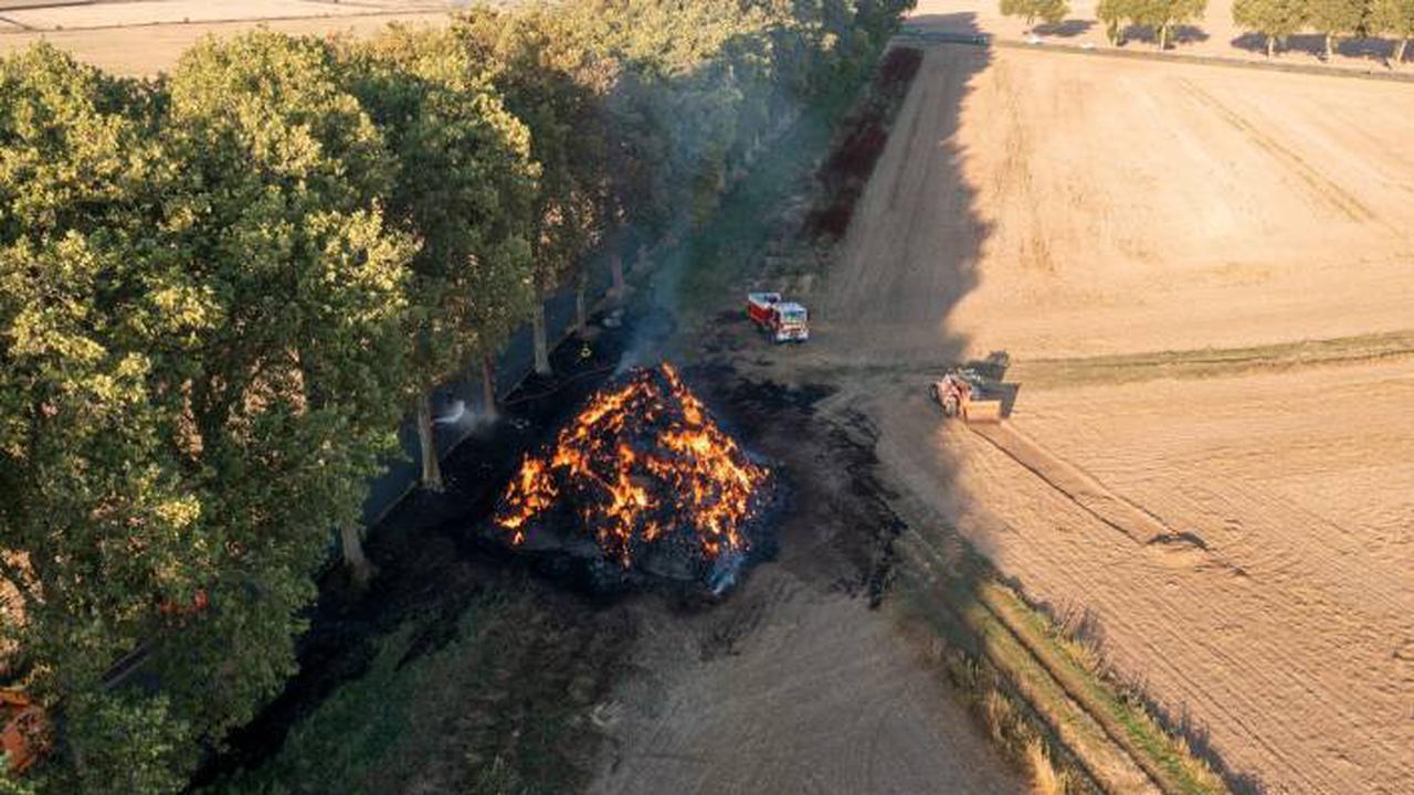 Nouvel incendie tôt hier matin dans un champ du sud de la Seine-et-Marne