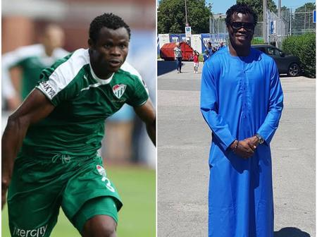 8 Years After He Left The Super Eagles, See How Popular Football Star Taye Taiwo Looks Now (Photos)