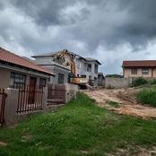 Wealthy Businessman Demolishes The House He Built For His Ex Girlfriend