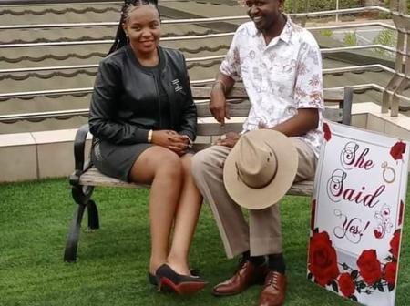 Former TV Girl Keziah was Kariuki Is Engaged