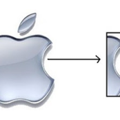 The secret has been revealed; meaning of the half apple symbol