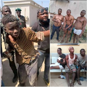Photos: Check Out Funny Ways Criminals Look Once They Have Been Caught By The Police And Other Security Agents