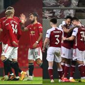 See The Team Man United And Arsenal Will Face In The Europa League Round Of 16 Fixtures