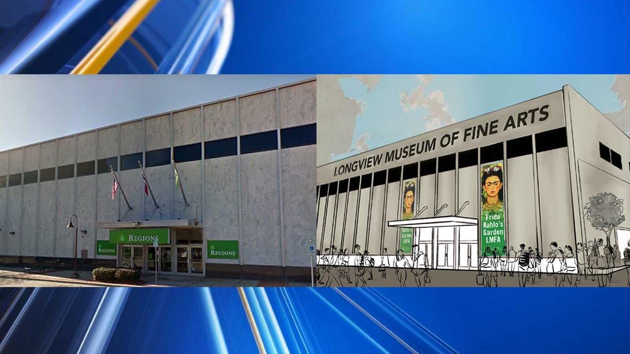 Longview Museum of Fine Arts purchases former bank with plans to move
