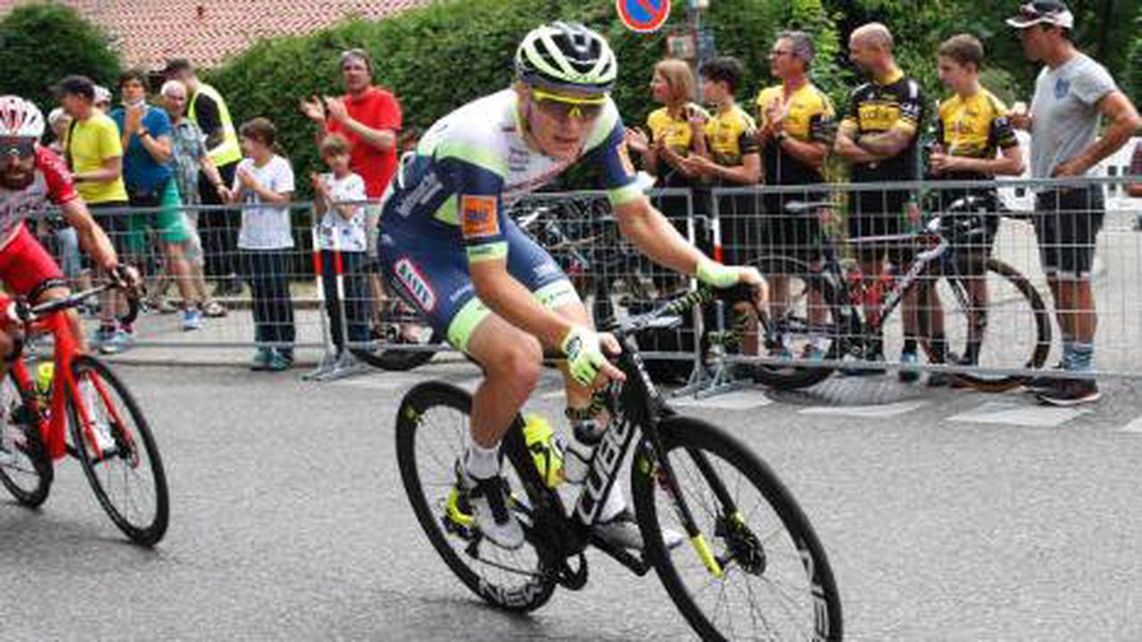 Tour de l'Ain: Georg Zimmermann holt ersten Profi-Sieg & Leadertrikot