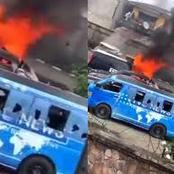 SAD! Morayo Afolabi Weeps As Hoodlums Attacked TVC ( Video)