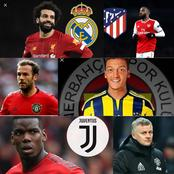 Arsenal Complete OFFICIAL Deal, Italian Giants Want 2 Man Utd Key Players, Salah To Real Madrid, Etc