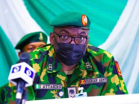 Few months after he took over from Buratai, see the directive the new COAS gave
