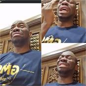 Makosso Craque et pleure à chaudes larmes en plein direct Facebook