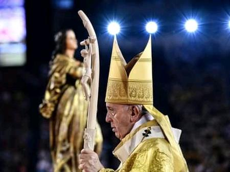 Easter: Check Out How Pope Francis Celebrated The Resurrection Of Christ.