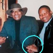 Old Pictures Of Jacob Zuma And Chief Justice Mogoeng left people Speech less: See This (Opinion)
