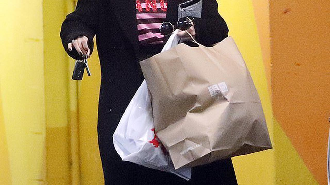 MasterChef judge Melissa Leong showcases her new shorter hairstyle during a shopping trip in Melbourne