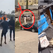 After Policemen Crushed Mother And Child To Death, See What Angry Area Boys Did To Them