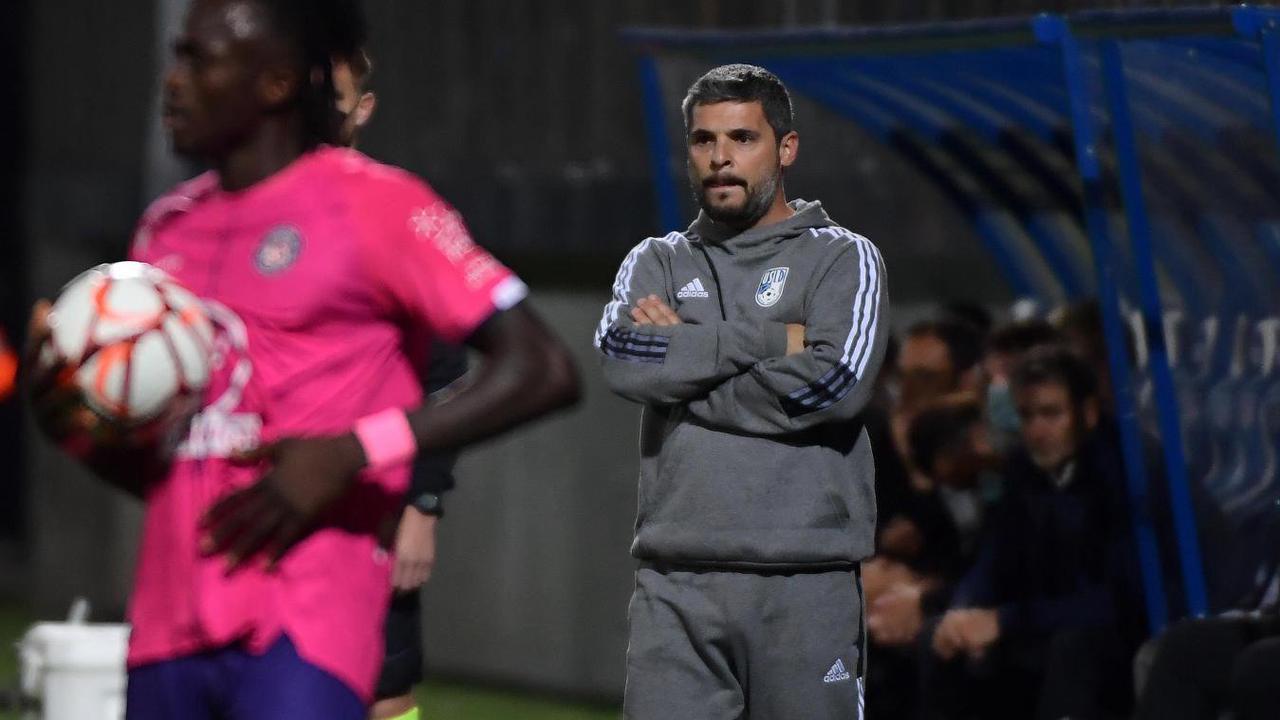 Foot (Ligue 2) - Le Dunkerquois Thomas Vannoye expulsé après la bagarre générale