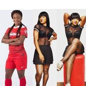 This Lady Is A Nigerian Footballer But She Slays Like A Model, See Adorable Photos Of Francisca