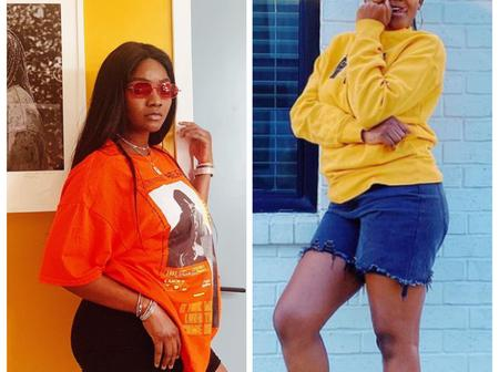 See recent pictures of Simi that looks like she is adding weight