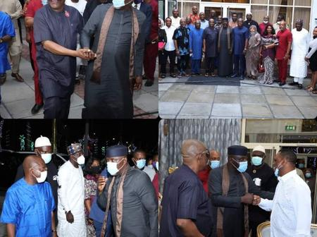 More Photos From Sen Rochas's Visit To Gov Wike at PH Government House, For Project Commissioning