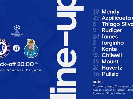 Can Chelsea win FC porto with this line up?