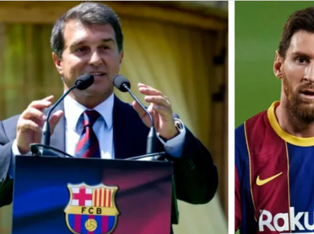 Laporta reportedly to see Barca's financial records before deciding Messi's salary