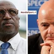 Football : Jacques Anouma a parlé très fort, le Président de la FIFA arrive enfin à Abidjan