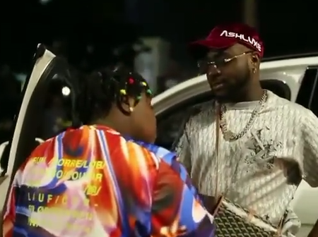 Davido Pens Down Touching Words For The Lady He Grew Up With!