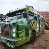 Is This Kenya's Ugliest Matatu?