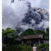 Something terrible happen in Indonesia on Tuesday. Volcano erupt.