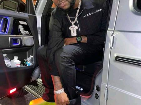 Davido finally out with another new Slang, Read to know
