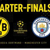 Quarter Finals Dortmund Vs Man City Prediction