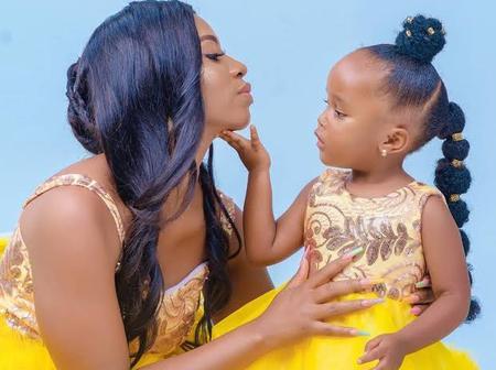 Kenyan Female Celebrities Who make Motherhood Adorable (Photos)