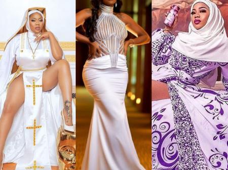 After Toyin Lawani Shared A Post To Defend Her Nun's Outfit, See Ka3na's Comment That Got Reactions
