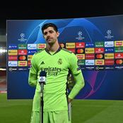 MADRID VS CHE: Check Out What Courtois Said On Facing Chelsea in Semi-final
