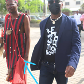 See Ihe Peculiar Individual Sowore Brought With Him to His Court Hearing