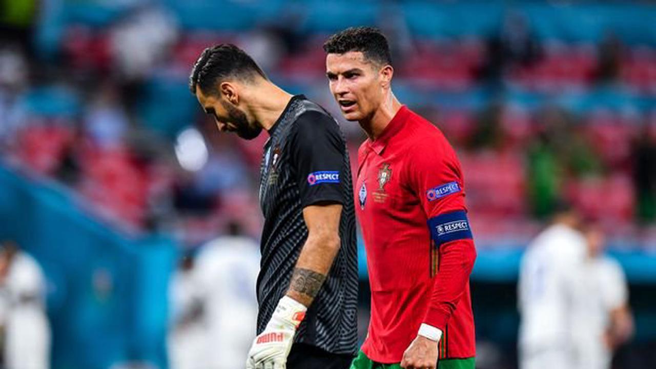 Portugal's Rui Patricio ignores Cristiano Ronaldo's penalty advice leaving Pepe fuming